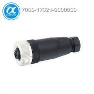 [무어] 7000-17321-0000000 / 커넥터/Signal / M12 FEMALE 0° FIELD-WIREABLE SCREW TERM. / 8-pol. max.0.5mm² 6-8mm