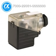 [무어] 7000-29361-0000000 / 밸브 커넥터 / SVS VALVE PLUG FORM A 18MM FIELD-WIREABLE / 24...230V LED M16x1.5