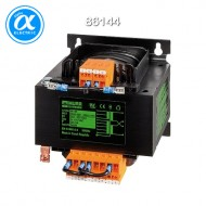 [무어] 86144 / 트랜스포머/1P / MTS 1-PHASE CONTROL AND ISOLATION TRANSFORMER / P: 160VA IN: 208...550VAC OUT: 2x115VAC / For screw and DIN-rail mounting / 단상-복권-절연등급 T 40/B