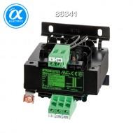 [무어] 86341 / 트랜스포머/1P / MTS 1-PHASE SAFETY TRANSFORMER / P: 63VA IN: 230/400VAC OUT: 24VAC / For screw and DIN-rail mounting / 단상 안전 트랜스-절연등급 T 40/B
