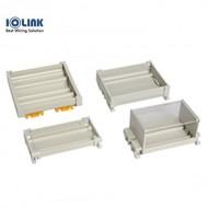 [삼원ACT] SPR-50BC/100 / 터미널부품 / SPR 시리즈 / 레일형 PCB 케이스 / 레일(찬넬), Screw취부, Cover