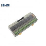 [삼원ACT] R16G-PC-EF / 중형릴레이보드 / R16G-EF 시리즈 / OMRON G6B릴레이 장착 / Push형 Screwless 단자대 분리형