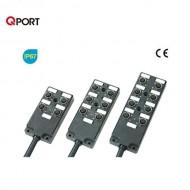 [삼원ACT] MPA-J83P-H□ / 메인케이블 일체형 M12 분기박스 / MPA 시리즈 / UL-내유성PUR-가동형 / 케이블 일체형
