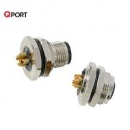 [삼원ACT] PM12-4F / PM12-4 시리즈 액세서리 / 판넬 취부형 M12콘넥터