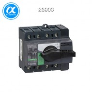 [슈나이더] 28903 / 스위치 단로기 / 스위치 디스커넥터 / Interpact INS63 / Switch-disconnector / 4P - 63A - 흑색 회전핸들