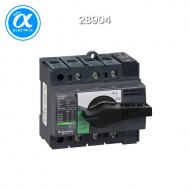 [슈나이더] 28904 / 스위치 단로기 / 스위치 디스커넥터 / Interpact INS80 / Switch-disconnector / 3P - 80A