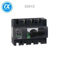 [슈나이더] 28912 / 스위치 단로기 / 스위치 디스커넥터 / Interpact INS160 / Switch-disconnector / 3P - 160A - 흑색 회전핸들