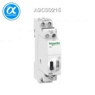 [슈나이더] A9C30215 / Acti 9 임펄스릴레이 / Acti 9 - iTLI / 2P - 1NO+1NC - 16A - coil 24 VDC - 48 VAC 50/60Hz