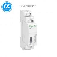 [슈나이더] A9C30811 / Acti 9 임펄스릴레이 / Acti 9 - iTL / 1P - 1NO - 16A - coil 110 VDC - 230...240 VAC 50/60Hz