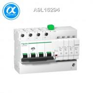 [슈나이더] A9L16294 / Acti 9 서지보호기 / Type 2, 3 저압 서지보호기 / 카트리지 교체형 / iQuick PRD 40r - SPD /  3P + N - 350V - with remote transfer