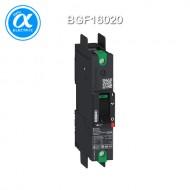 [슈나이더] BGF16020 / 배선용차단기(MCCB) / PowerPact B / 20A 1P AC 35kA at 480/440V / TMD-compression lug -  UL 489 (UL인증)