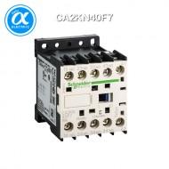 [슈나이더] CA2KN40F7 / Control Relay / 보조계전기 TeSys K - CA2-K - 4NO - 순시형 - 10A - 코일 110V AC