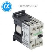 [슈나이더] CA2SK20G7 / Control Relay / 보조계전기 TeSys SK - CA2-SK - 2NO - 순시형 - 10A - 코일 120V AC