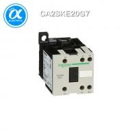 [슈나이더] CA2SKE20G7 / Control Relay / 보조계전기 TeSys SK - CA2-SKE - 2NO – 교번 접점 - 10A - 코일 120V AC