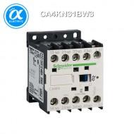 [슈나이더] CA4KN31BW3 / Control Relay / 보조계전기 TeSys K - CA4-K - 3NO + 1NC - 순시형 - 10A - 코일 24V DC
