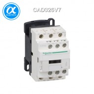 [슈나이더] CAD326V7 / Control Relay / 보조계전기 TeSys D - CAD-326 - 3NO + 2NC - 순시형 - 10A - 코일 400V AC / 링 터미널