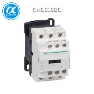 [슈나이더] CAD506BD / Control Relay / 보조계전기 TeSys D - CAD-506 - 5NO - 순시형 - 10A - 코일 24V DC / 링 터미널