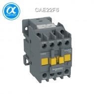 [슈나이더] CAE22F6 / Control Relay / EasyPact TVS / 보조계전기 TVS - 2 NO + 2 NC - 제어 110V AC, 60Hz - 정격 690 V 이하