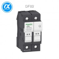 [슈나이더] DF82 / 모터보호용 / TeSys 퓨즈-디스커넥터 / TeSys DF-FUSE HOLDER / Fuse carrier - 2P 25A - fuse size 8.5 x 31.5 mm / [구매단위 6개]