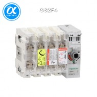 [슈나이더] GS2F4 / 스위치 단로기 / 퓨즈 스위치 디스커넥터 / TeSys GS / Switch-disconnector-fuse / 4P - 50A - NFC 14 x 51 mm