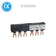 [슈나이더] GV2G245 / 모터보호용 / TeSys 차단기/접촉기 액세서리 / TeSys - Comb busbar / 3P 부스바 - 63A - 탭-오프 2개 - 45 mm 피치 - TeSys GV2/U/D/K용