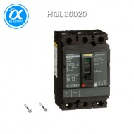 [슈나이더] HGL36020 / 배선용차단기(MCCB) / PowerPact H / Thermal magnetic, Unit mount,  / 20A, 3 pole, 18 kA, 600 VAC, 80% rated