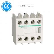 [슈나이더] LADC226 / 전자접촉기(MC) 액세서리 / TeSys 접촉기 부속품 / TeSys D, F / 보조 접점 블록 - 2NO + 2NC - 링 터미널