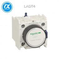 [슈나이더] LADT4 / 전자접촉기(MC) 액세서리 / TeSys 접촉기 부속품 / TeSys D, F / 시간 지연 보조 접점 블록 - 1NO + 1NC - On delay 10...180s - 스크류  터미널
