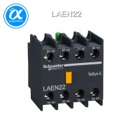 [슈나이더] LAEN22 / 전자접촉기(MC) 액세서리 / EasyPact TVS 접촉기 / TVS / 보조접점 블록 - 2NO - 스크류 터미널