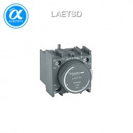 [슈나이더] LAETSD / 전자접촉기(MC) 액세서리 / EasyPact TVS 접촉기 / TVS / 시간지연 보조접점 블록 - 1NO + 1NC - on delay 1...30s - 전면 마운팅