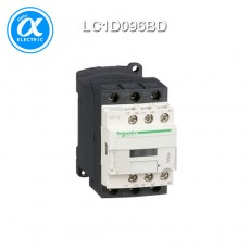 [슈나이더] LC1D096BD / 전자접촉기(MC) / TeSys D(링 터미널) / 접촉기 TeSys D - 3P - AC-3 440V 9A - 코일 24V DC