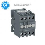 [슈나이더] LC1E3801M7 / 전자접촉기(MC) / EasyPact TVS / 접촉기 TVS / 3P - AC-3 - 440V 38A - 코일 220V AC 50/60Hz - 1NC / [구매단위 24개]