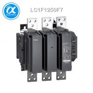 [슈나이더] LC1F1250F7 / 전자접촉기(MC) / TeSys F 접촉기_일체형 / 접촉기 TeSys F - LC1-F - 3P (3NO) - AC-1 - 1260A - 440V - 코일 110V AC