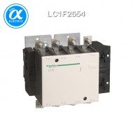 [슈나이더] LC1F2654 / 전자접촉기(MC) / TeSys F 접촉기_분리형(Body) / 접촉기(코일 미장착) TeSys F - LC1-F - 4P (4NO) - AC-1 - 350A - 440V
