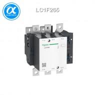 [슈나이더] LC1F265 / 전자접촉기(MC) / TeSys F 접촉기_분리형(Body) / 접촉기(코일 미장착) TeSys F - LC1-F - 3P (3NO) - AC-3 - 265A - 440V