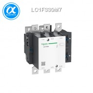 [슈나이더] LC1F330M7 / 전자접촉기(MC) / TeSys F 접촉기_일체형 / 접촉기 TeSys F - LC1-F - 3P (3NO) - AC-3 - 330A - 440V - 코일 220V AC