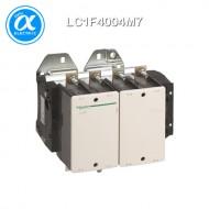 [슈나이더] LC1F4004M7 / 전자접촉기(MC) / TeSys F 접촉기_일체형 / 접촉기 TeSys F - LC1-F - 4P (4NO) - AC-1 - 500A - 440V - 코일 220V AC