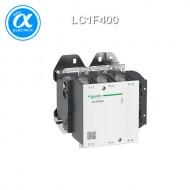 [슈나이더] LC1F400 / 전자접촉기(MC) / TeSys F 접촉기_분리형(Body) / 접촉기(코일 미장착) TeSys F - LC1-F - 3P (3NO) - AC-3 - 400A - 440V