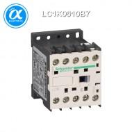 [슈나이더] LC1K0610B7 / 전자접촉기(MC) / TeSys K 접촉기 / 접촉기 TeSys K - LC1-K - 3P - AC-3 440V 6A - 코일 24V AC - 보조접점 1NO