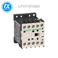 [슈나이더] LP1K1210BD / 전자접촉기(MC) / TeSys K 접촉기 / 접촉기 TeSys K - LP1-K - 3P - AC-3 440V 12A - 코일 24V DC - 보조접점 1NO