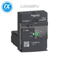 [슈나이더] LUCA05FU / 모터보호용 차단기 / 올인원 모터 스타터 / TeSys U - Control units / 표준형 컨트롤 릴레이 LUCA - class 10 - 1.25...5A - 110...220V DC/AC