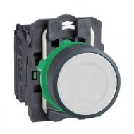 [슈나이더]XB5AA11 /누름버트 스위치/플라스틱 베젤 일체형 백색 1A접점