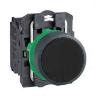 [슈나이더]XB5AA21 /누름버트 스위치/플라스틱 베젤 일체형 흑색 1A접점