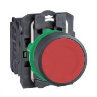 [슈나이더]XB5AA41 /누름버트 스위치/플라스틱 베젤 일체형 적색 1A접점