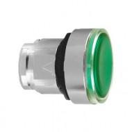 [슈나이더]ZB4BH033 /조광누름버튼 스위치/메탈 베젤 조광헤드 유지 녹색