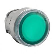 [슈나이더]ZB4BW333 /조광누름버트 스위치/메탈 베젤 조광헤드 복귀 녹색